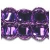 Metallic Purple Double Box Braid
